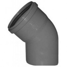 Отвод 45° 110 мм канализ. СТАНДАРТ КОНТУР