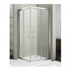Душевое ограждение Good Door INFINITY CR -100-G-CH стекло Grape 6 мм