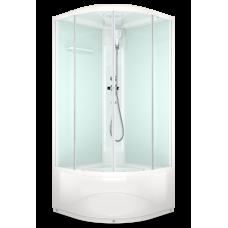 Душевая кабина DOMANI-Spa Delight 99 high светлые стенки, прозрачное стекло