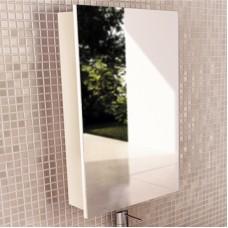 Шкаф-зеркало Диана-50 белый Comforty