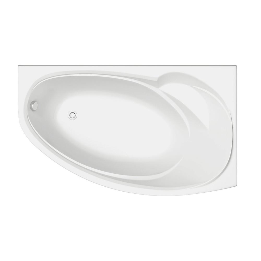 Акриловая ванна Bas Фэнтaзи 1500х880 правая без г/м