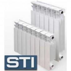 Радиатор алюминиевый STI NEW 500/80 4 секции (135Вт/секц)