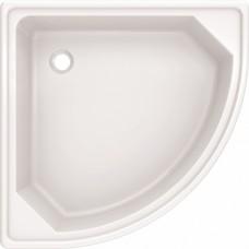 Поддон стальной 70х70х12 полукруглый (BLB)