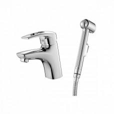 Смеситель для умывальника с гигиеническим душем, Carlow Plus, IDDIS, CRPSB00i08