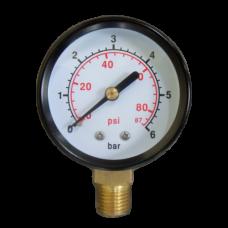 Манометр радиальный 0-6 бар