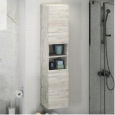 Шкаф-колонна Верона-35 дуб белый Comforty