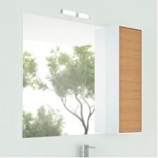 Шкаф-зеркало Терция-90 кофе полоска Comforty