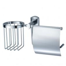 Oder Держатель туалетной бумаги и освежителя хром Wasserkraft К3059