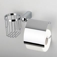 Держатель туалетной бумаги и освежителя хром Wasserkraft Berkel К6859
