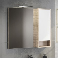 Зеркало-шкаф Гамбург-90 дуб сонома Comforty