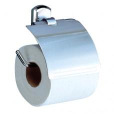 Oder Держатель туалетной бумаги с крышкой хром Wasserkraft К3025