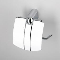 Держатель туалетной бумаги с крышкой хром Wasserkraft Berkel К6825