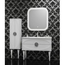 Комплект мебели Smile Ибица 90 белый/хром