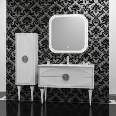 Комплект мебели Smile Ибица 120 белый/хром