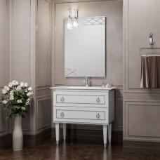 Комплект мебели Smile Порто 80 белый/хром