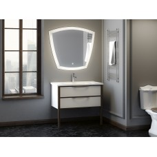 Комплект мебели Smile Риголетто 90 белый/светлый орех