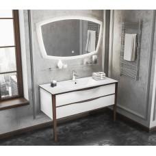 Комплект мебели Smile Риголетто 120 белый/светлый орех