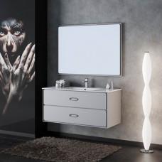 Комплект мебели Smile Монтэ 90 белый светло-серый