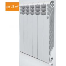 Радиатор алюминиевый ROYAL Thermo Revolution 6 секций, 500мм/80мм, 171Вт