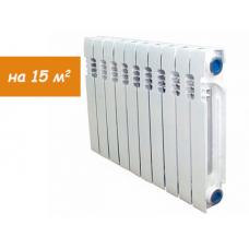 Радиатор чугунный ЕВРО STI НОВА 10 секций, 500мм/80мм