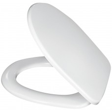 Сиденье для унитаза Sanita Эталон/Формат, с микролифтом, дюропласт, цвет белый